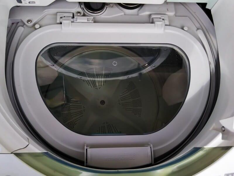 Panasonic縦型洗濯乾燥機をDIY修理したよ(中蓋交換&操作パネルカバー応急処置)01