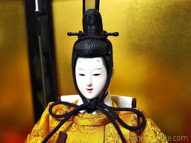 お内裏様:人形問屋街で買ったうちのお雛様も綺麗なので便乗で自慢してもいいですか