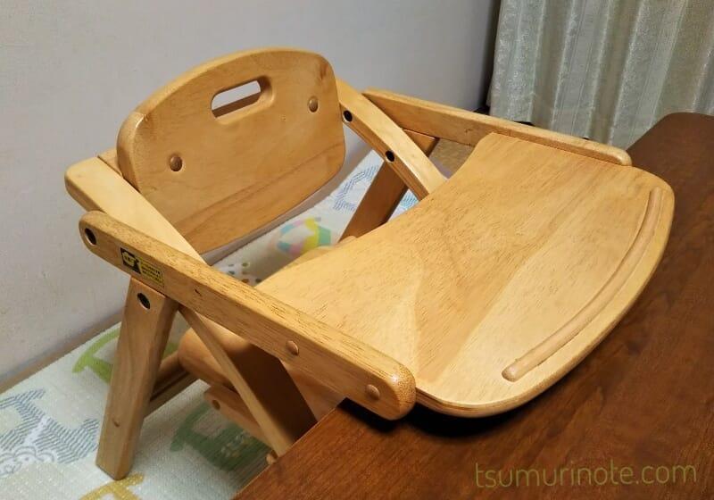 座卓派のお食事椅子におすすめ!大和屋アーチ木製ローチェアのレビュー-01