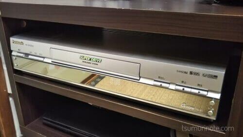 VHSビデオデッキPanasonic NV-SXG550