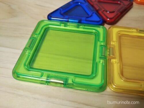 海外品をお取り寄せ!日本未発売のマグフォーマー透明プレート入り50pcsセットの口コミレビュー05