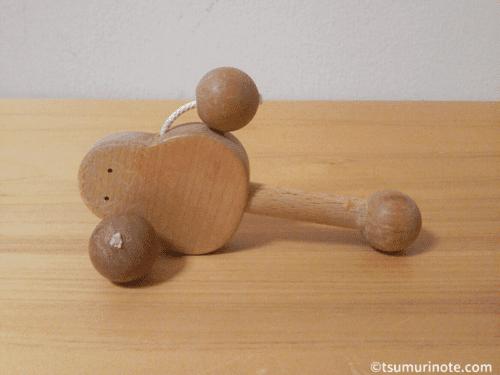 ベビーが初めて出会う木のおもちゃ、なかよしライブラリー〈あかちゃんセット〉レビュー06