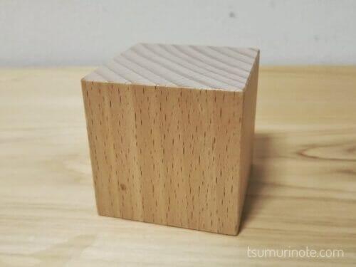「小さな大工さん」の40ミリ基尺の積み木を選んだ経緯と実際に遊んだ感想を口コミするよ02