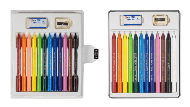 4歳児のぬりえに使いやすいクーピーペンシルの話。30色缶入りは大人にもおすすめ08