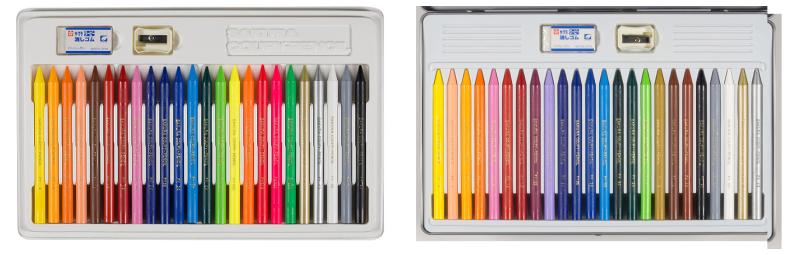 4歳児のぬりえに使いやすいクーピーペンシルの話。30色缶入りは大人にもおすすめ09