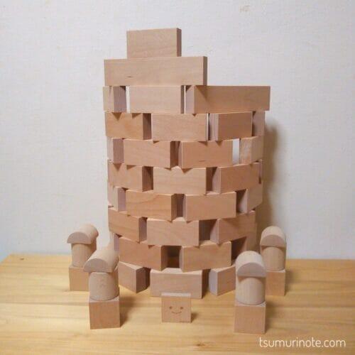 「小さな大工さん」の40ミリ基尺の積み木を選んだ経緯と実際に遊んだ感想を口コミするよ