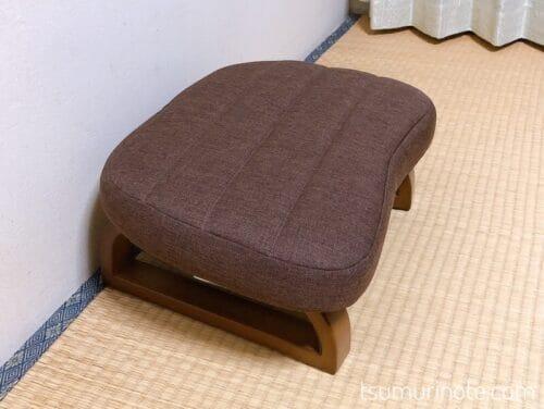 ニトリのあぐら正座椅子・ダイチ2