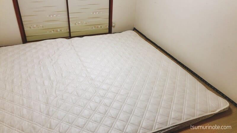 アイリスオーヤマ「エアリー敷き布団」セミダブルサイズ購入!寝心地&お手入れレビュー04