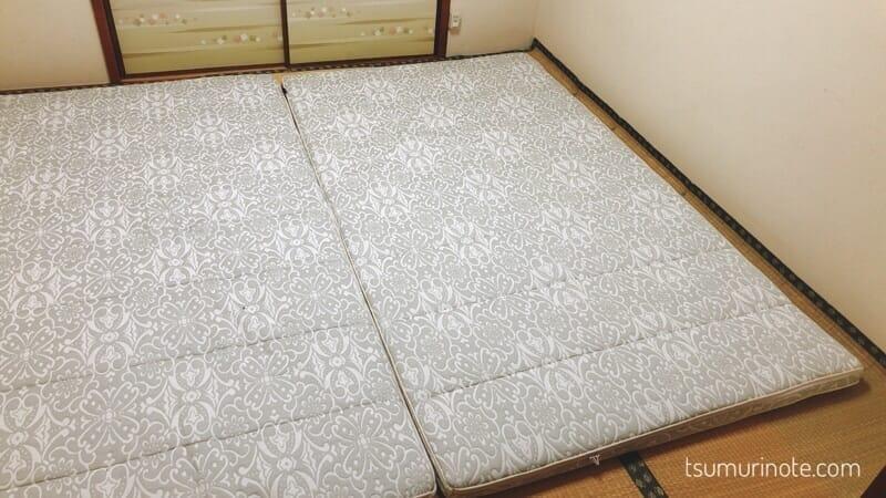 アイリスオーヤマ「エアリー敷き布団」セミダブルサイズ購入!寝心地&お手入れレビュー01