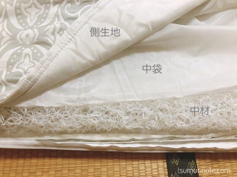 アイリスオーヤマ「エアリー敷き布団」セミダブルサイズ購入!寝心地&お手入れレビュー03