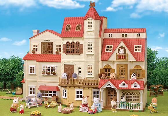 シルバニアファミリー「赤い屋根の大きなお家」進化形態