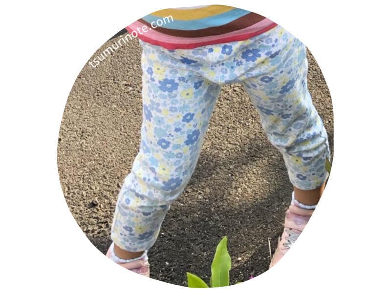 ベルメゾン 花柄パンツ