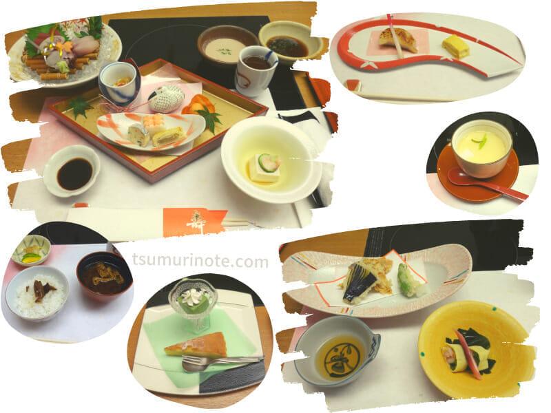 コース料理(4000円+税)
