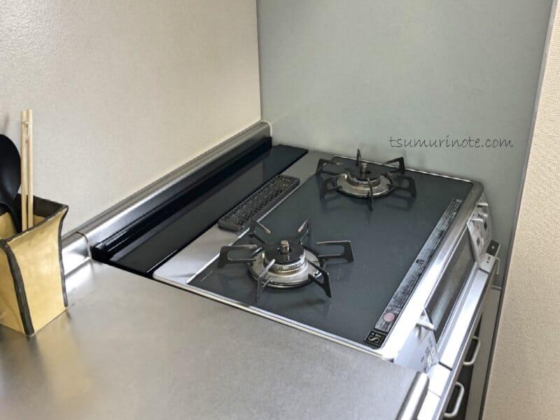 山崎実業TOWER「コンロ奥隙間ラック」で賃貸キッチンにありがちな謎空間がスッキリした話10