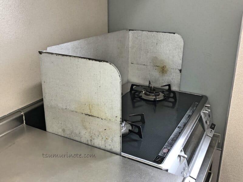 山崎実業TOWER「コンロ奥隙間ラック」で賃貸キッチンにありがちな謎空間がスッキリした話11